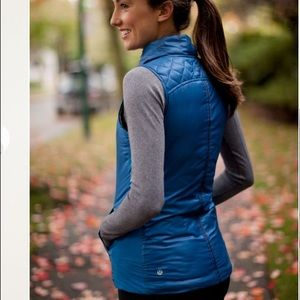 What the fluff reversible down vest